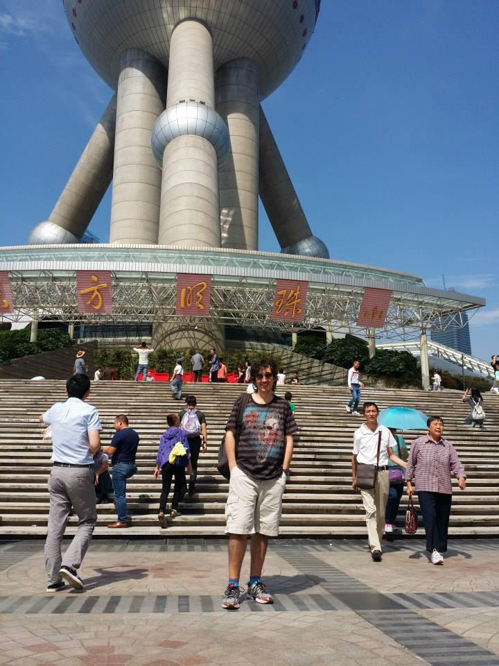 Juan Miguel Idiazabal en Shanghai