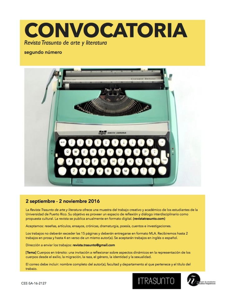 FLYER CONVOCATORIA 2 TRASUNTO